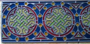 ornamentverglasung geflickt k