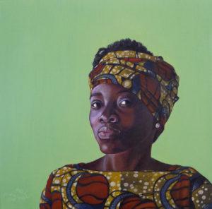 afrikanisches portrait k gedr